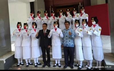 Upacara HUT RI ke-75 Tk Kabupaten Bogor